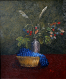 Still Life with Blue Fruit